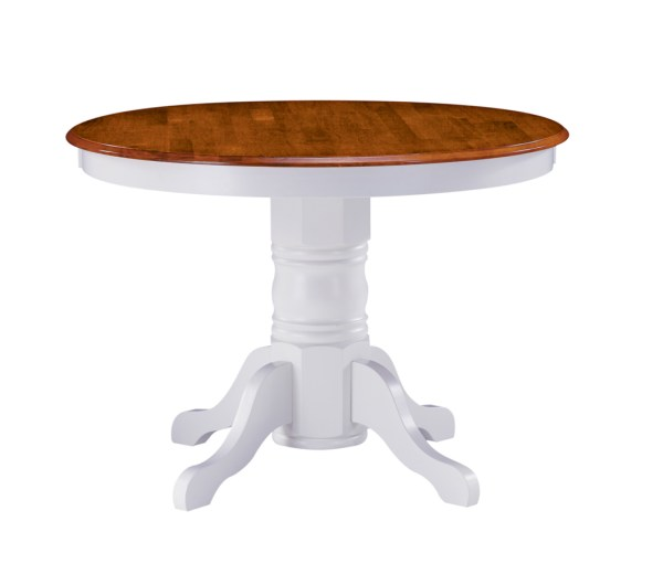 Home Styles Pedestal Dining Table - White And