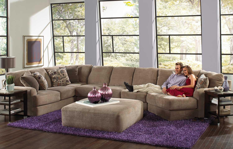one seat sofa with chaise king furniture reviews jackson malibu large sectional ottoman set b ...