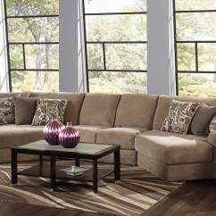 Jackson Furniture Sectional Sofas Sofa With Built In End Tables Malibu Small Piano Wedge Jf 3239 Set 3