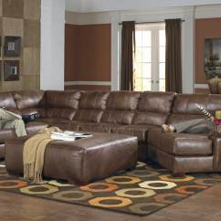 Leather Sofa Set 3 1 Amazon Chair Jackson Lawson Sectional B - Chestnut Jf-4243 ...
