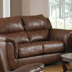 Verona Leather Sofa Reviews Restorer For Jackson Set Chestnut Jf 4490 1223 09