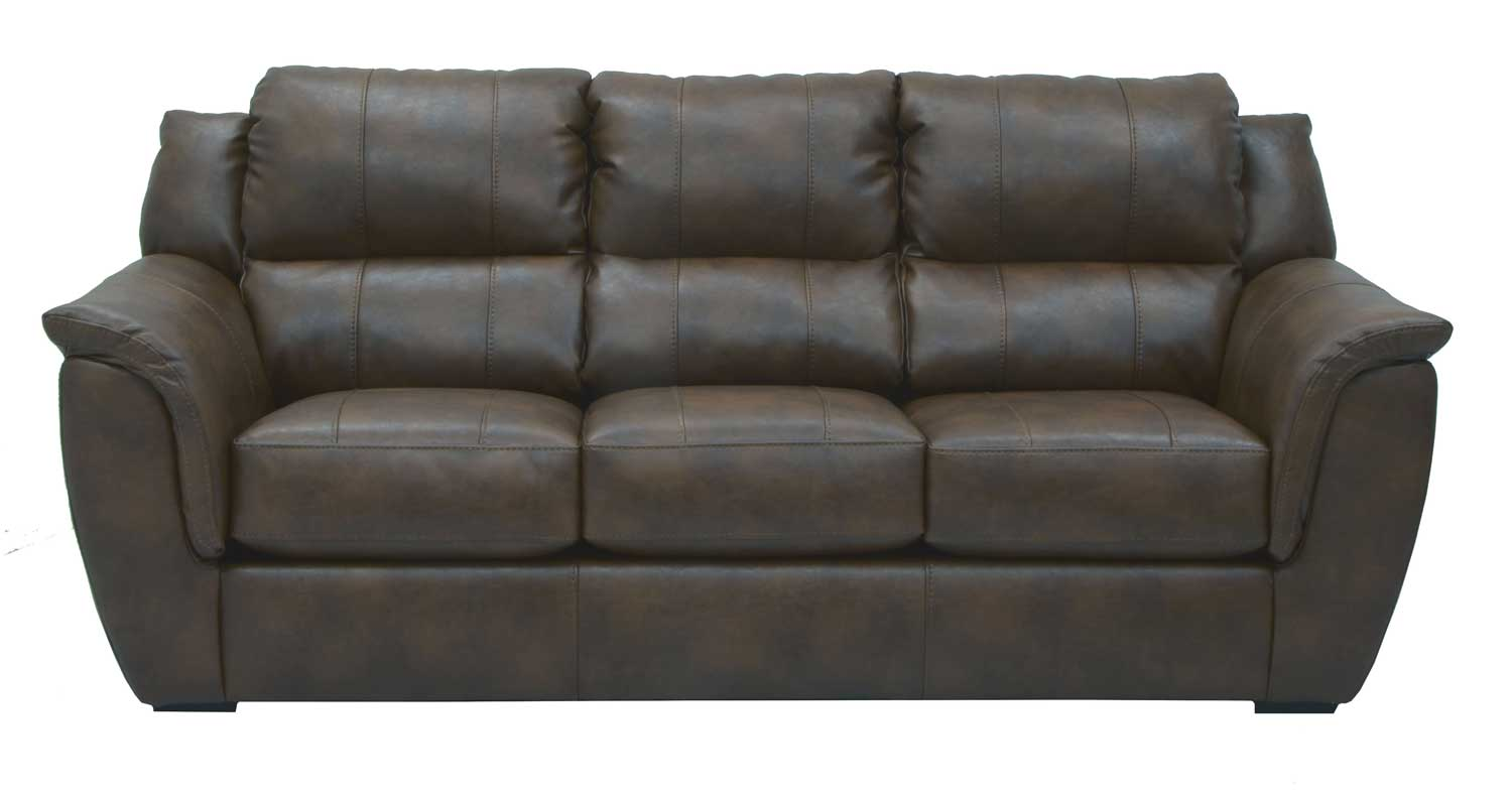 verona leather sofa reviews baja convert a couch sleeper bed jackson bonded godiva jf 4490 03