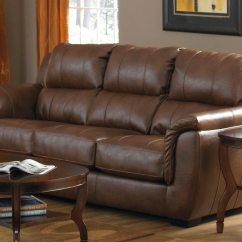 Verona Leather Sofa Reviews Contemporary Sectional And Ottoman Set Black Jackson Chestnut Jf 4490 1223 09
