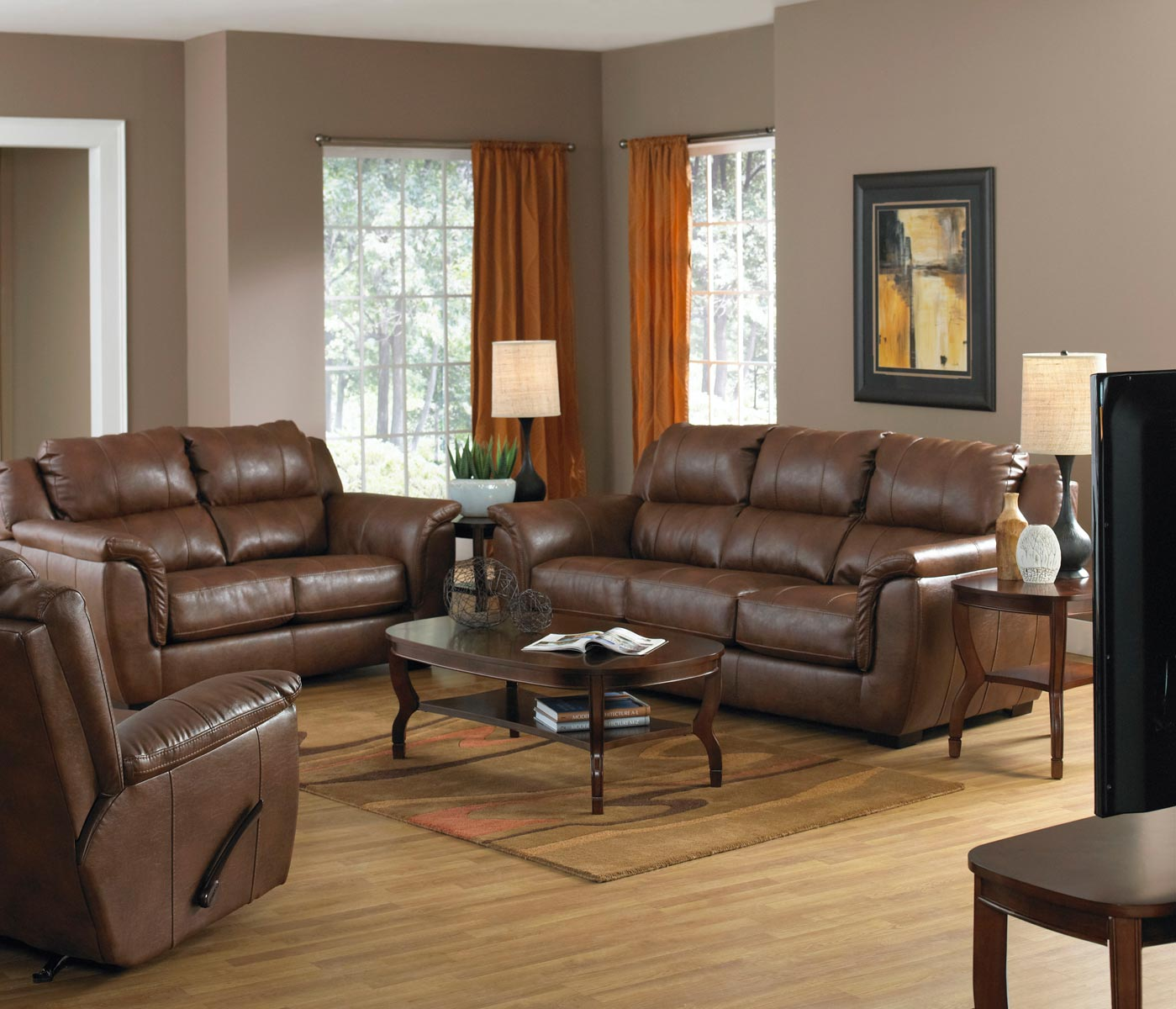 verona leather sofa reviews how to make slipcovers for sofas and loveseats jackson set chestnut
