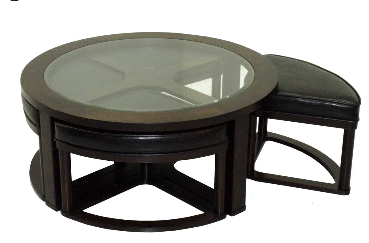 Jackson 834 Cocktail Table with Stools