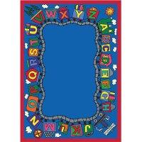Joy Carpet Reading Train Rug 1429 | Homelement.com