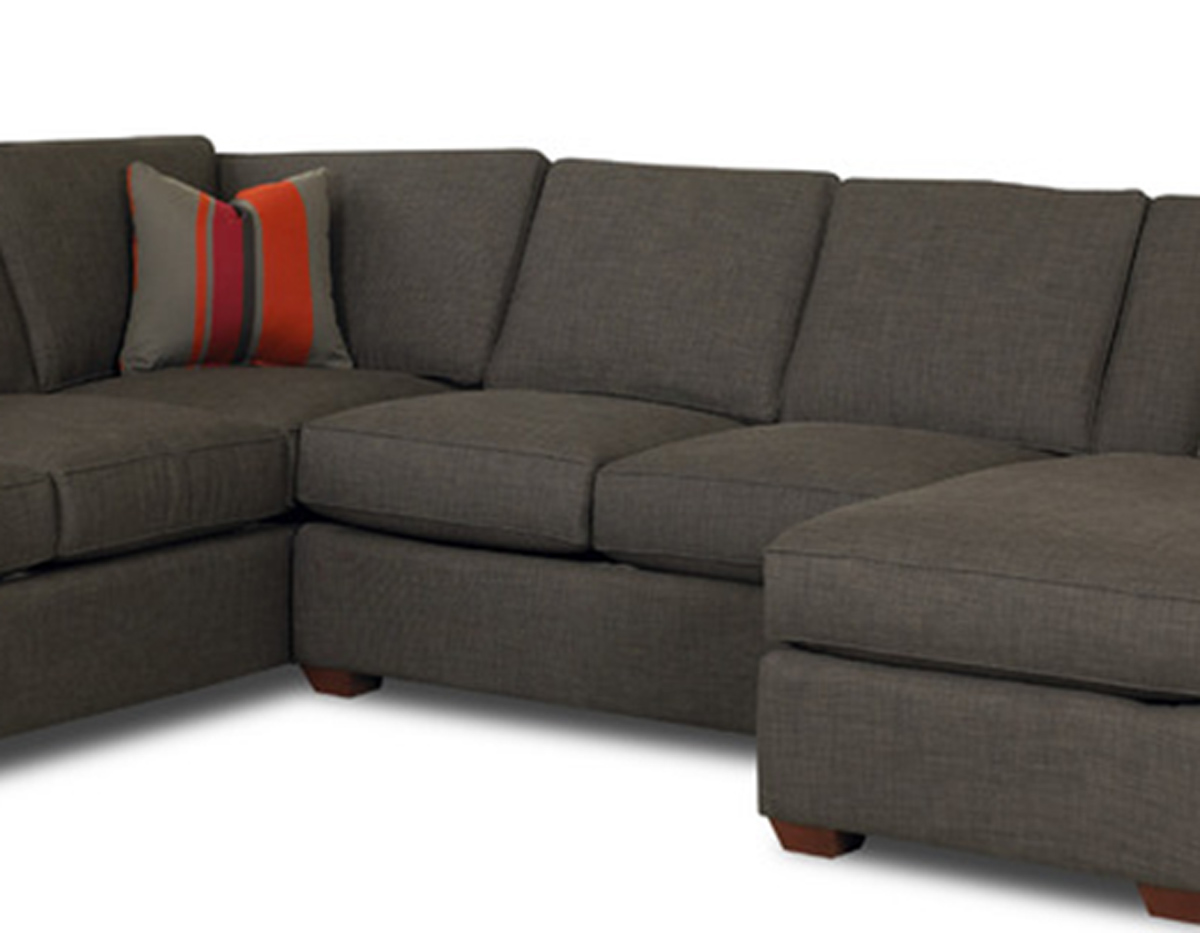 klaussner loomis sectional sofa au bed set dumdum charcoal kl