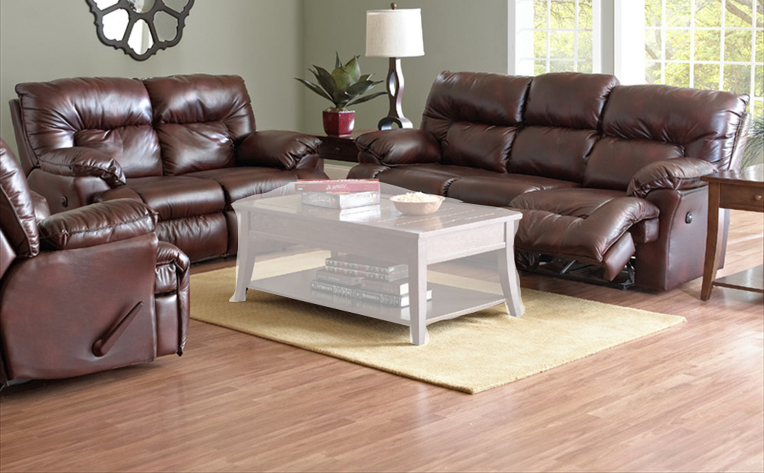 laramie sofa reviews make your own slipcover klaussner reclining set raleigh tobacco