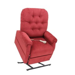 Mega Motion Lift Chairs Reviews Hospital Sleeper Chair Lc 200 3 Position Power Recliner Brandy