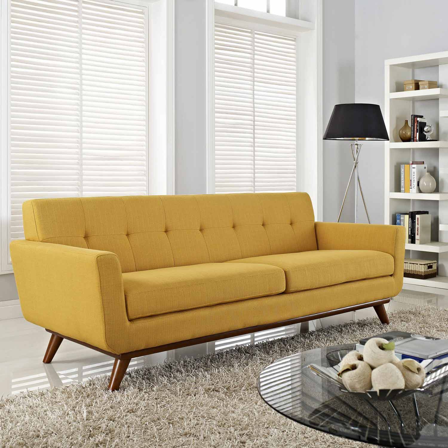 spiers sofa review slipcover for double recliner modway engage upholstered citrus mw eei 1180 cit at