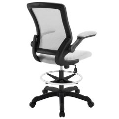 Modern Drafting Chair Industrial Chairs Target Modway Veer Stool Gray Mw Eei 1423 Gry At