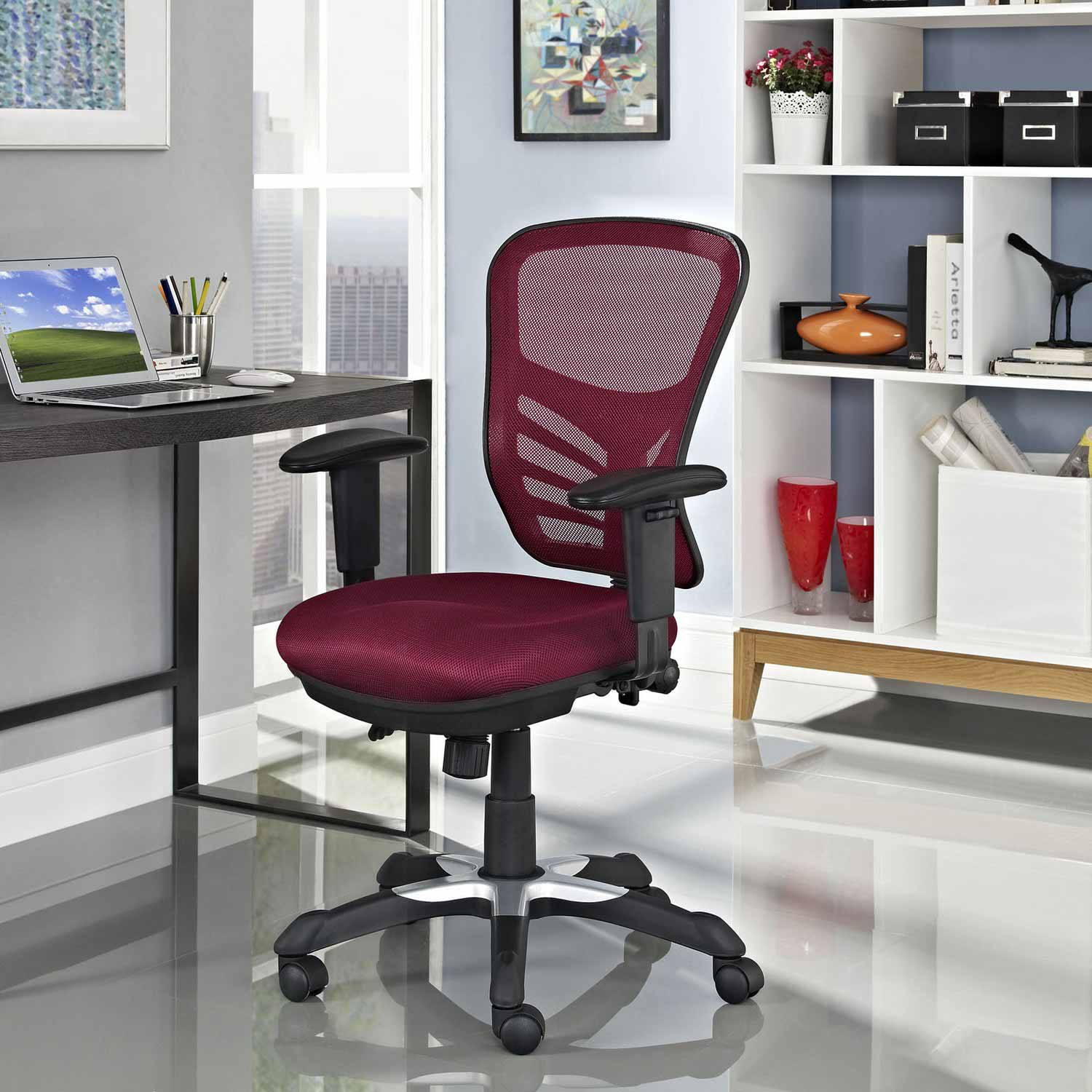 modway office chair cover hire pembrokeshire articulate mesh red mw eei 757
