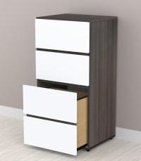 Nexera Allure 36 inch Storage Cabinet - 3 Drawers 220333 ...