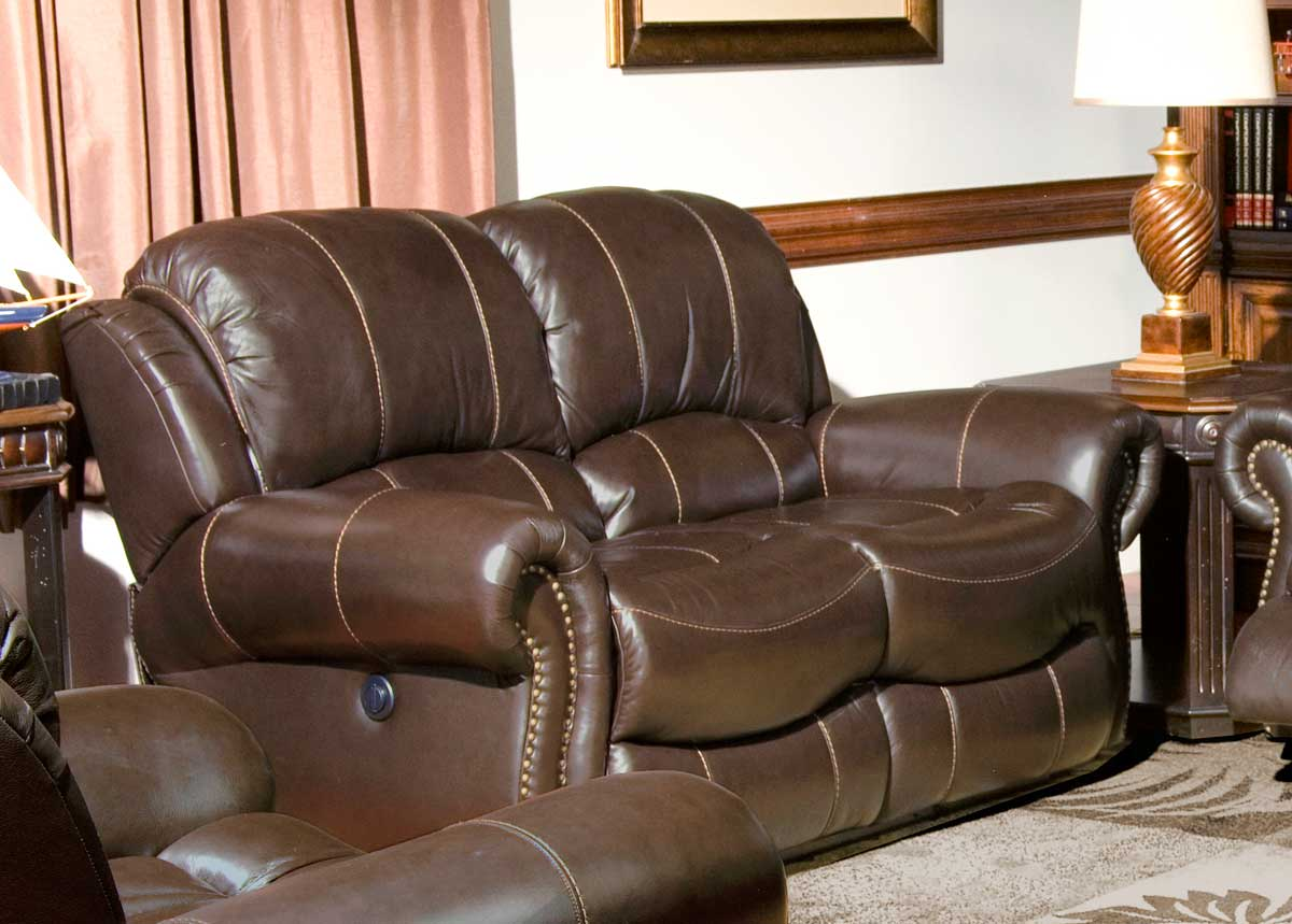 recliner sofa set philippines free removal glasgow parker house adonis power reclining chocolate