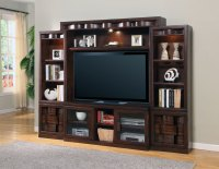 Parker House Oslo 4pc Wall Entertainment Center PH-OSL#101 ...
