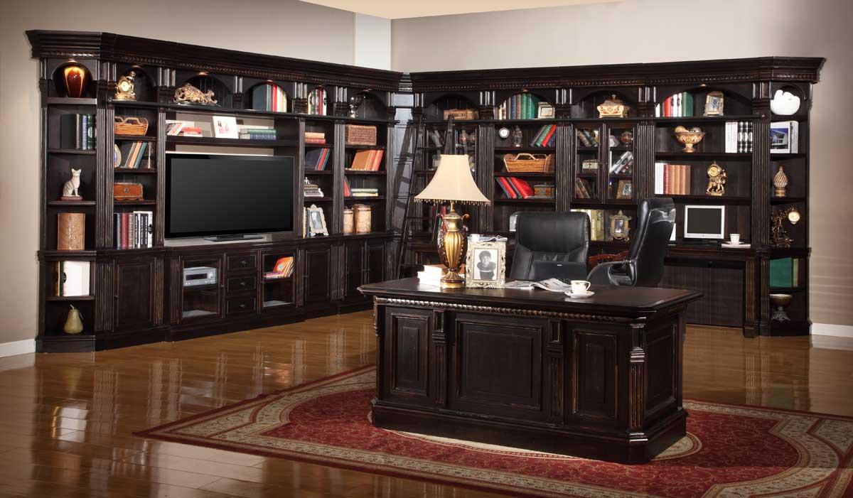 Parker House Venezia Library Bookcase Wall Unit  D PHVEN