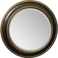Black And Gold Round Mirror Pictures to Pin on Pinterest ...