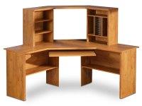 South Shore Prairie Country Pine Corner Desk 7232780 at ...