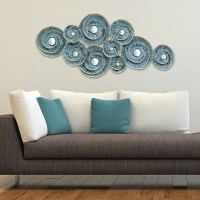 Stratton Home Decor Decorative Waves Metal Wall Decor ...