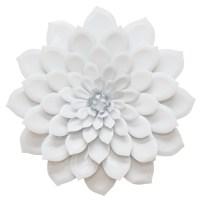 Stratton Home Decor Layered Flower Wall Decor - White ...