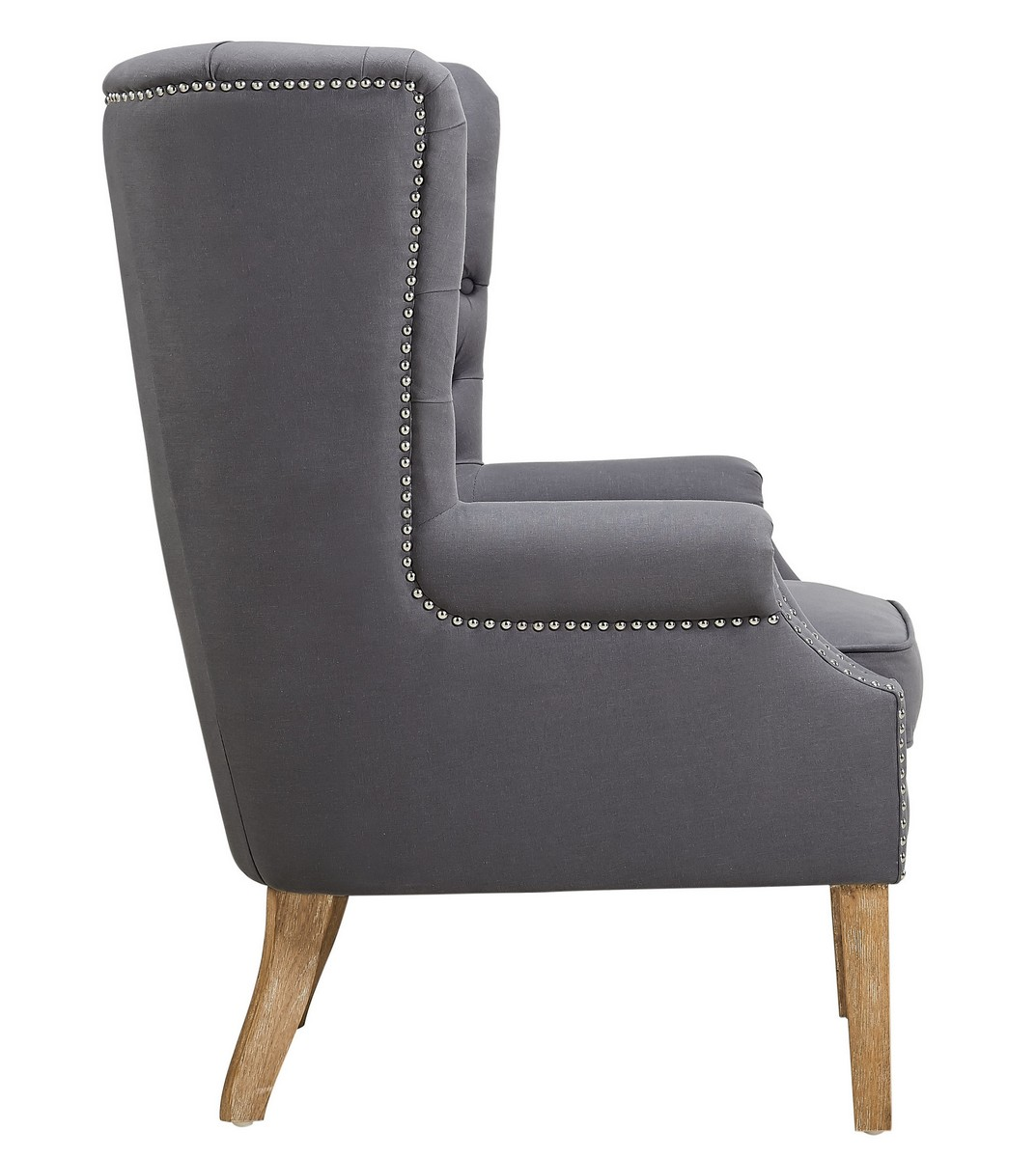 grey wing chair white folding covers bulk tov furniture abe linen a2040 at