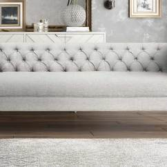 Gray Sofa Navy Chairs Bassett Table Tov Furniture Farah Grey L4900 At Homelement