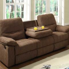 Double Recliner Sofa Cover Mart Homelegance Marianna Reclining Set - Dark Brown ...
