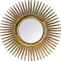 Uttermost Destello Gold Starburst Mirror UTTERMOST-05032 ...
