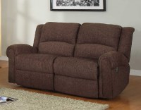 Homelegance Esther Reclining Sofa Set - Dark Brown ...