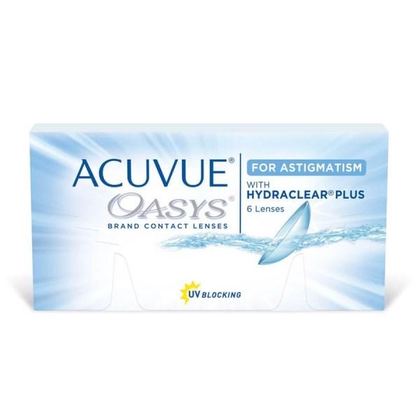 acuvue oasys para astigmatismo
