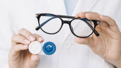 É possível converter uma receita de óculos para de lentes?