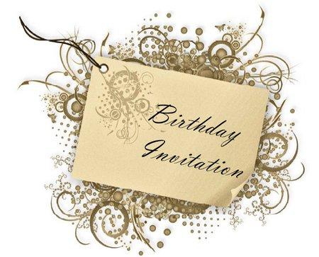 Download Birthday Invitations Mac Style Design (pdf). Swirls Free Birthday
