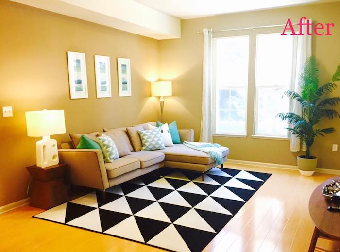 staging a living room rooms to go chairs budget friendly diy tips sell your home after