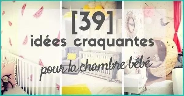 Dcoration Chambre Bb  39 Ides  Tendances