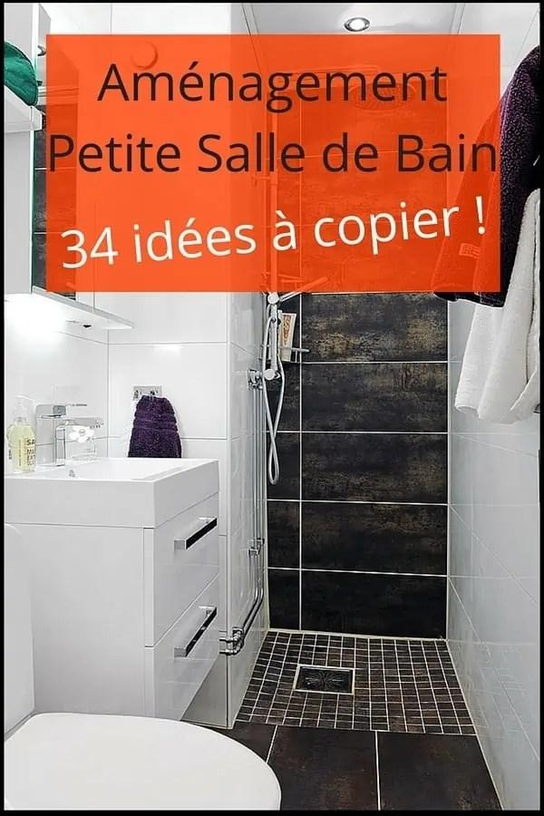 Amnagement Petite Salle de Bain  34 ides  copier