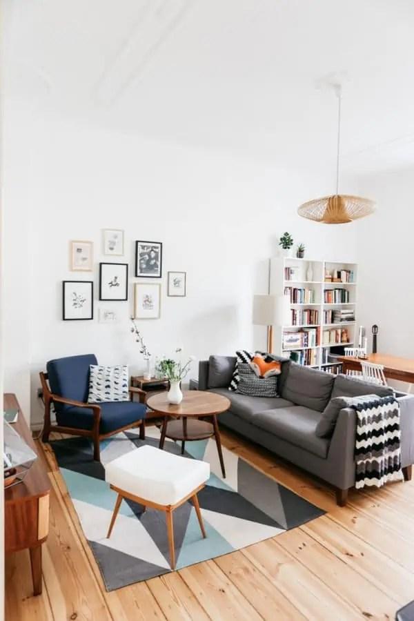 des meubles en bois pour la decoration de ce salon scandinave