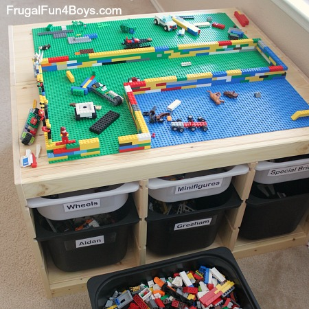 Rangement Lego Le Guide Ultime 50 Idées Et Astuces