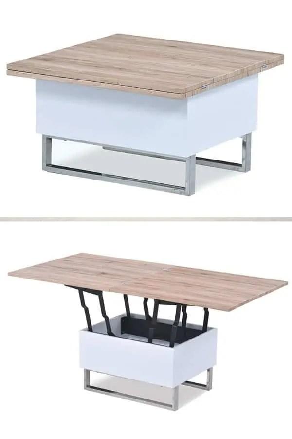 table basse transformable ikea
