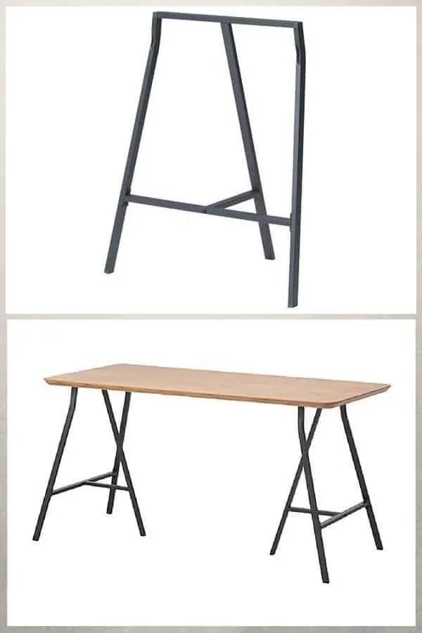 Tréteaux Design 21 Idées Pour La Table Ou Le Bureau