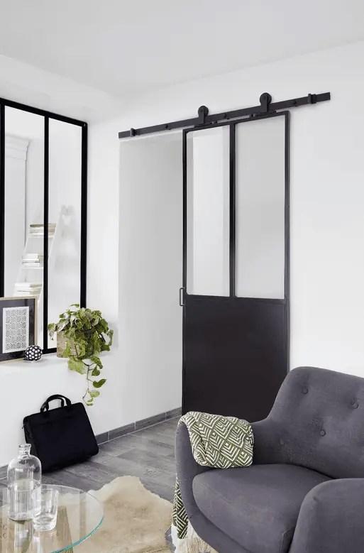 O Trouver Une Porte Coulissante Atelier Style Verrire