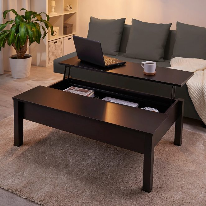 11 tables basses transformables pour