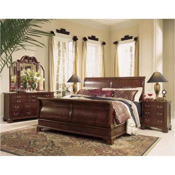 791-304 American Drew Furniture Cherry Grove Queen Sleigh Bed