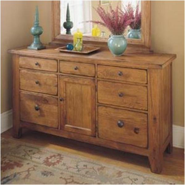 4397-32 Broyhill Furniture Door Dresser-stain