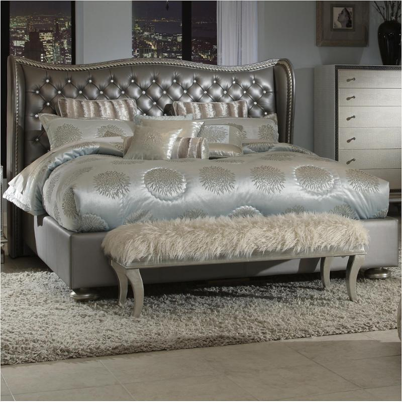 03014-78-ck aico furniture hollywood swank bed