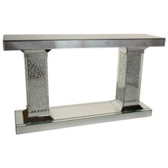 Living Room Console Tables Mirrored Olive Green And Cream Ideas Fs Mntrl225t Aico Furniture Montreal Sofa Table