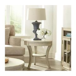 Living Room End Tables Top Colour Schemes For 10209 Riverside Furniture Huntleigh Round Table