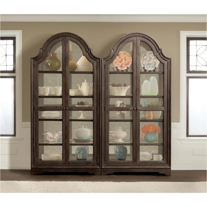 24955 Riverside Furniture Verona Dining Room Display Cabinet