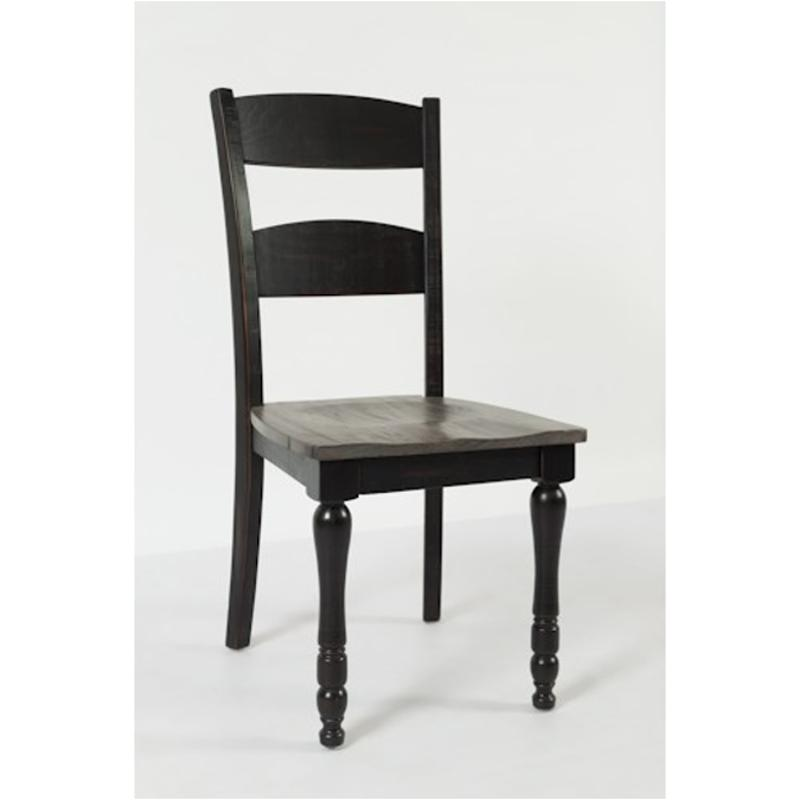 ladder back dining chairs replacement spindles for 1702 401 jofran furniture chair madison county vintage black room