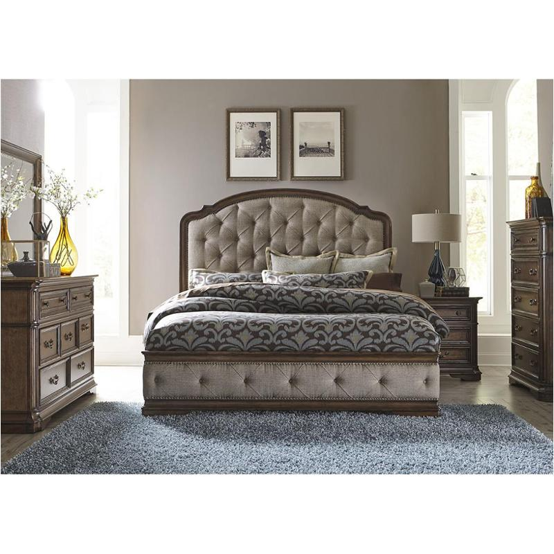 487-br15hu liberty furniture amelia bedroom king upholstered bed