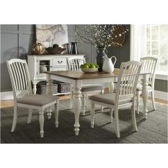 Liberty Dining Chairs Maitland Smith 334 T4078 Furniture Rectangular Leg Table Cumberland Creek Room Dinette
